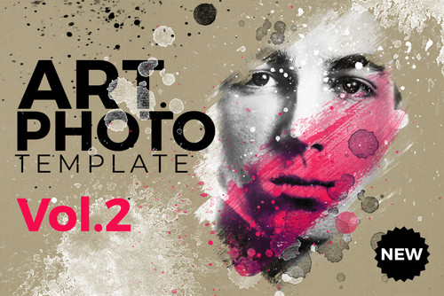 Art Photo / Portrait Template Vol.2