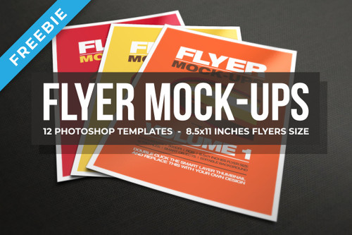 Flyer Mock-ups Vol.1