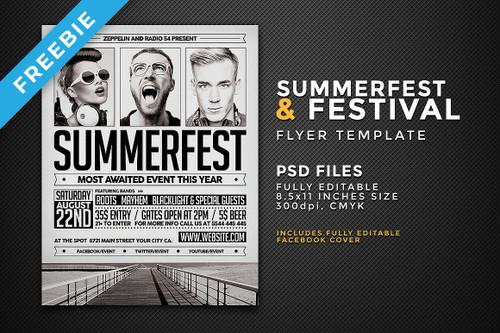 Festival Flyer Template
