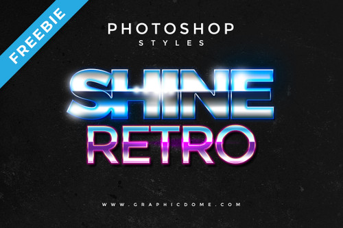 80s Retro Style for Photoshop
