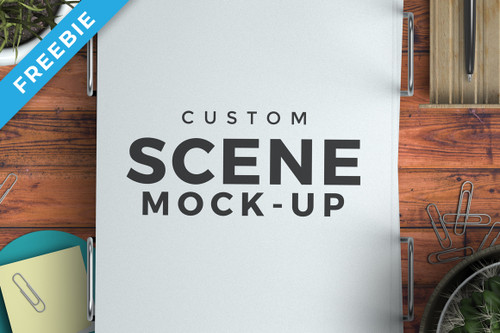 Custom Scene Mock-up