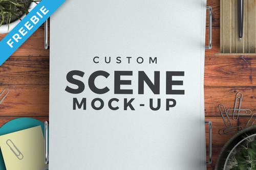 Custom Scene Mock-up