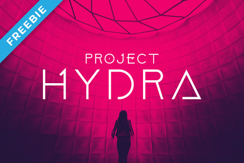 Project Hydra Font