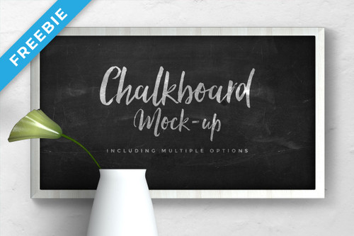Frame Mock-Up Chalkboard