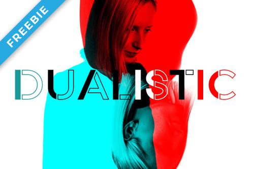 Dualistic Free Font