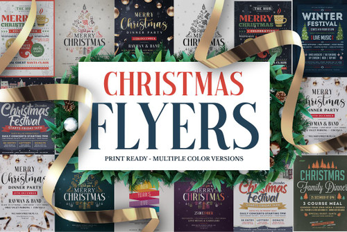 Christmas Flyers Bundle Vol.2