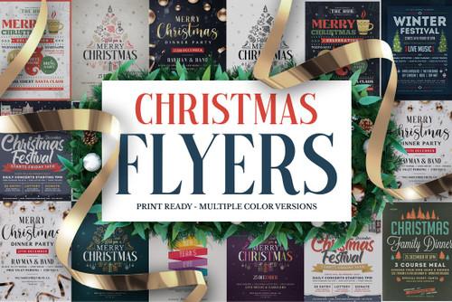 Christmas Flyers Bundle Vol.2