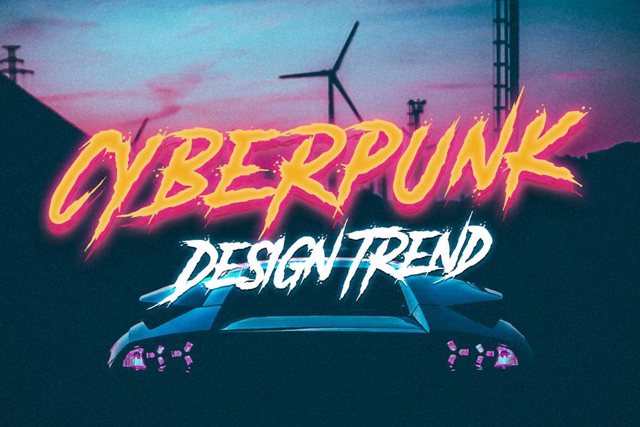 Cyberpunk Design Trend