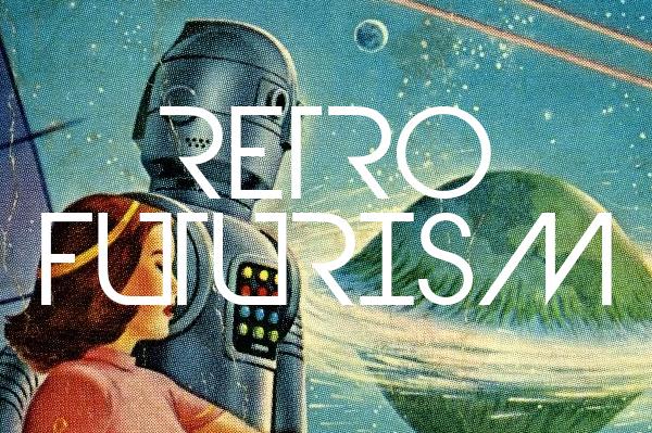 Retro Futurism Design Trend
