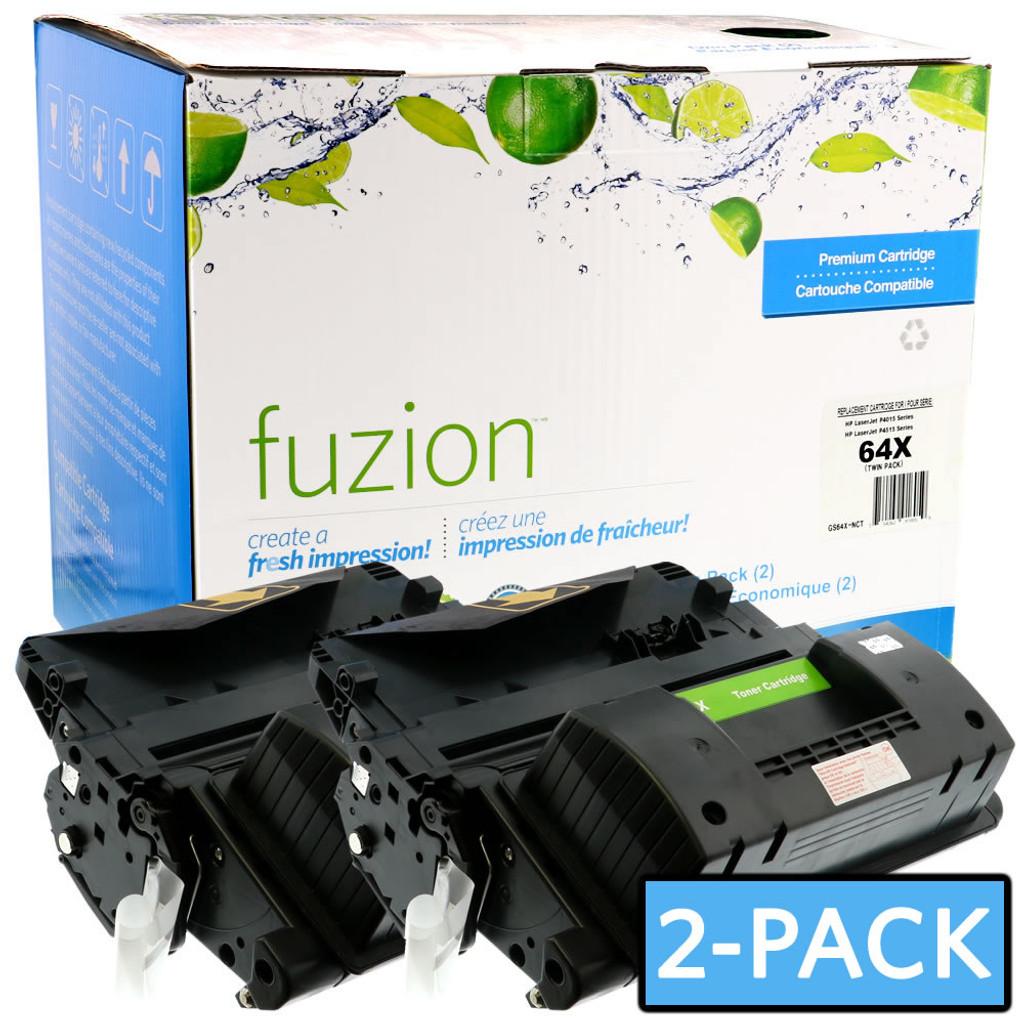 Fuzion-HP-CC364X-Twin-Pack