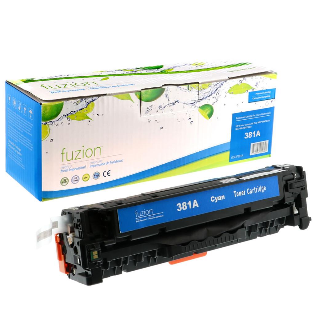 Fuzion-HP-CF381A-Cyan-Toner