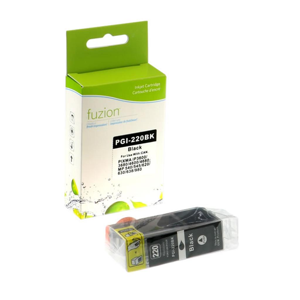 Fuzion Canon PGI-220BK Pigment Inkjet Cartridge
