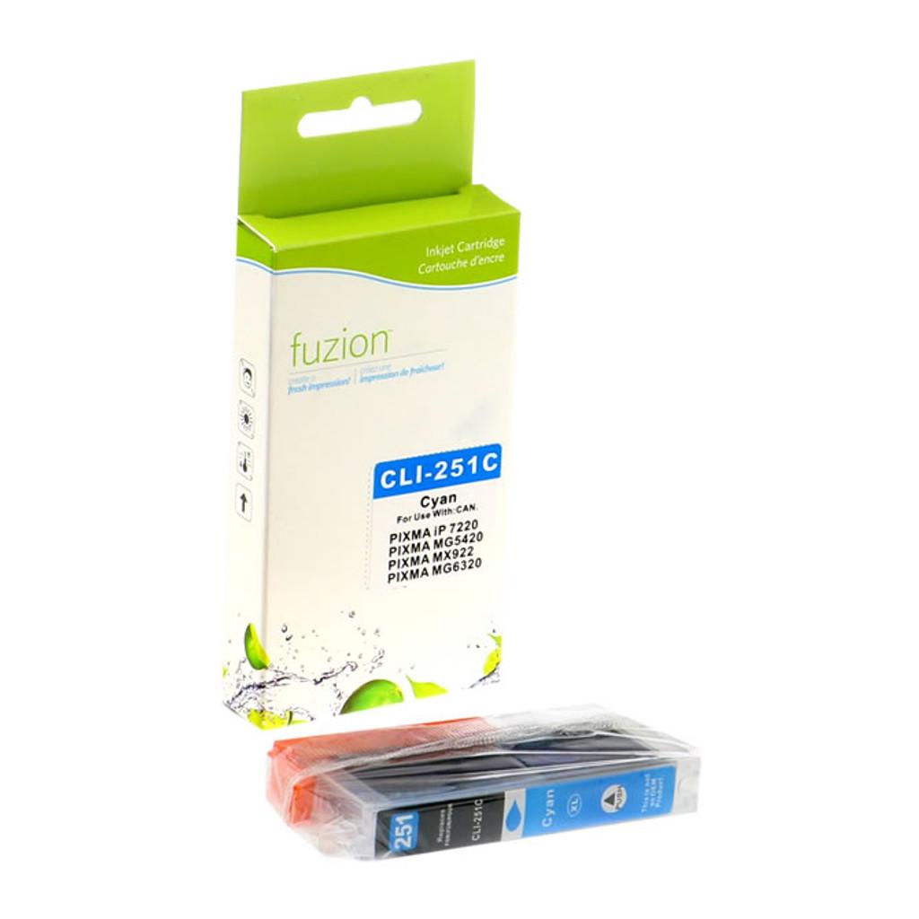 Fuzion Canon CLI-251XL Inkjet Cartridge