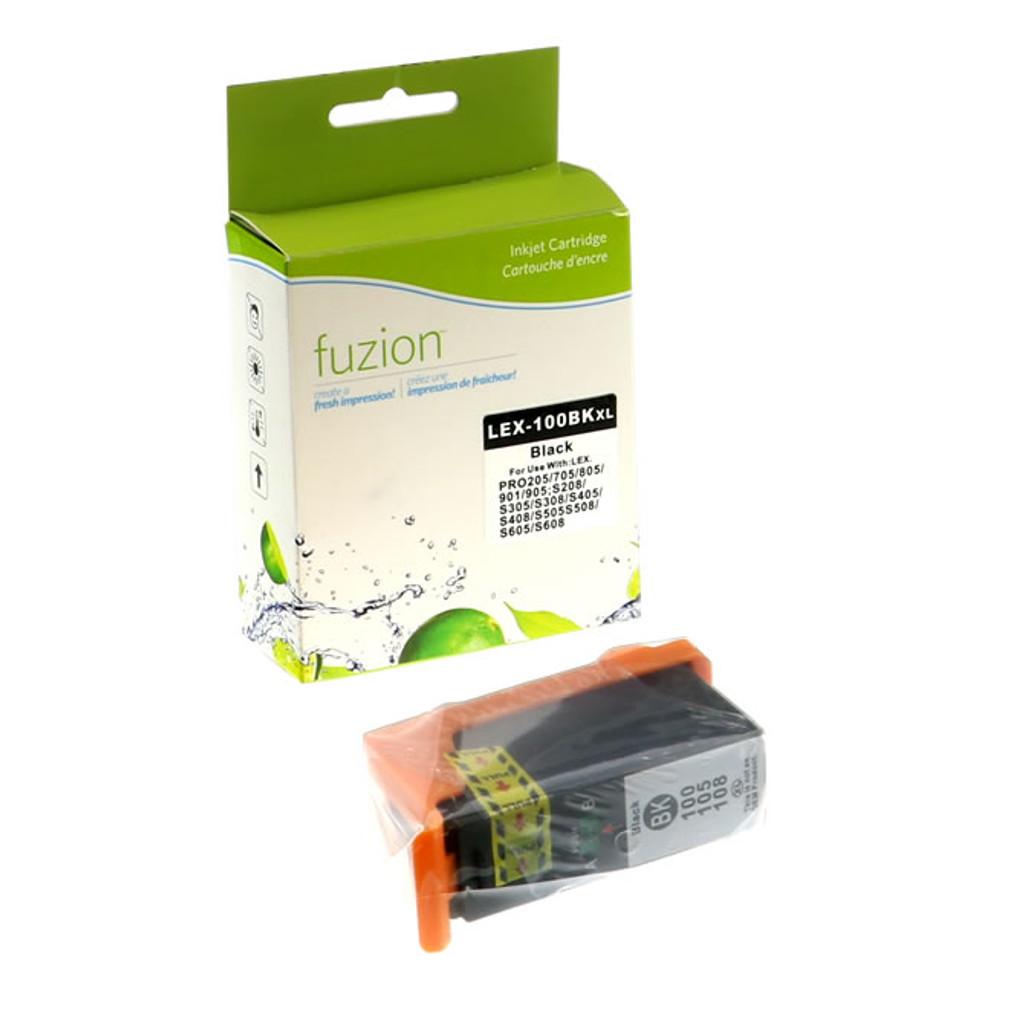 Fuzion Lexmark #100XL Ink Cartridge