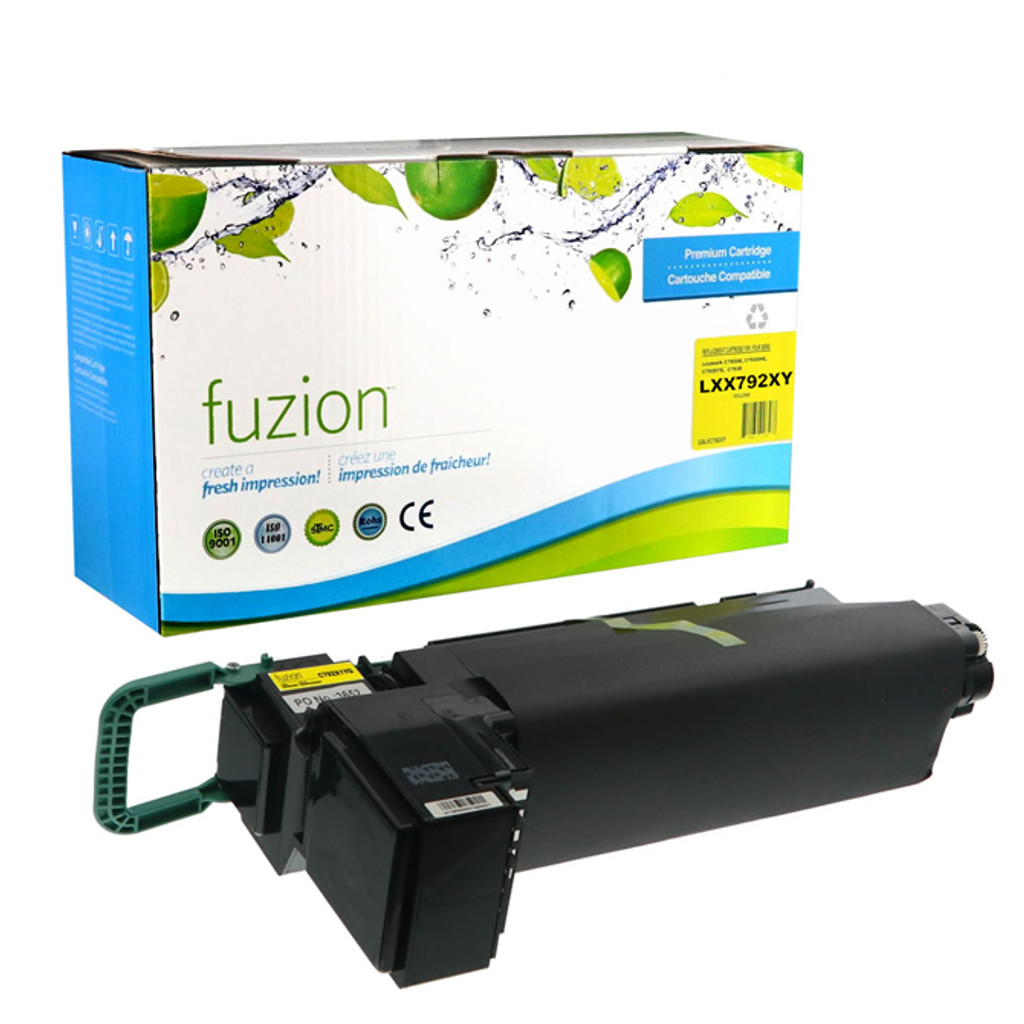 Fuzion Lexmark X792X1YG Toner Cartridge
