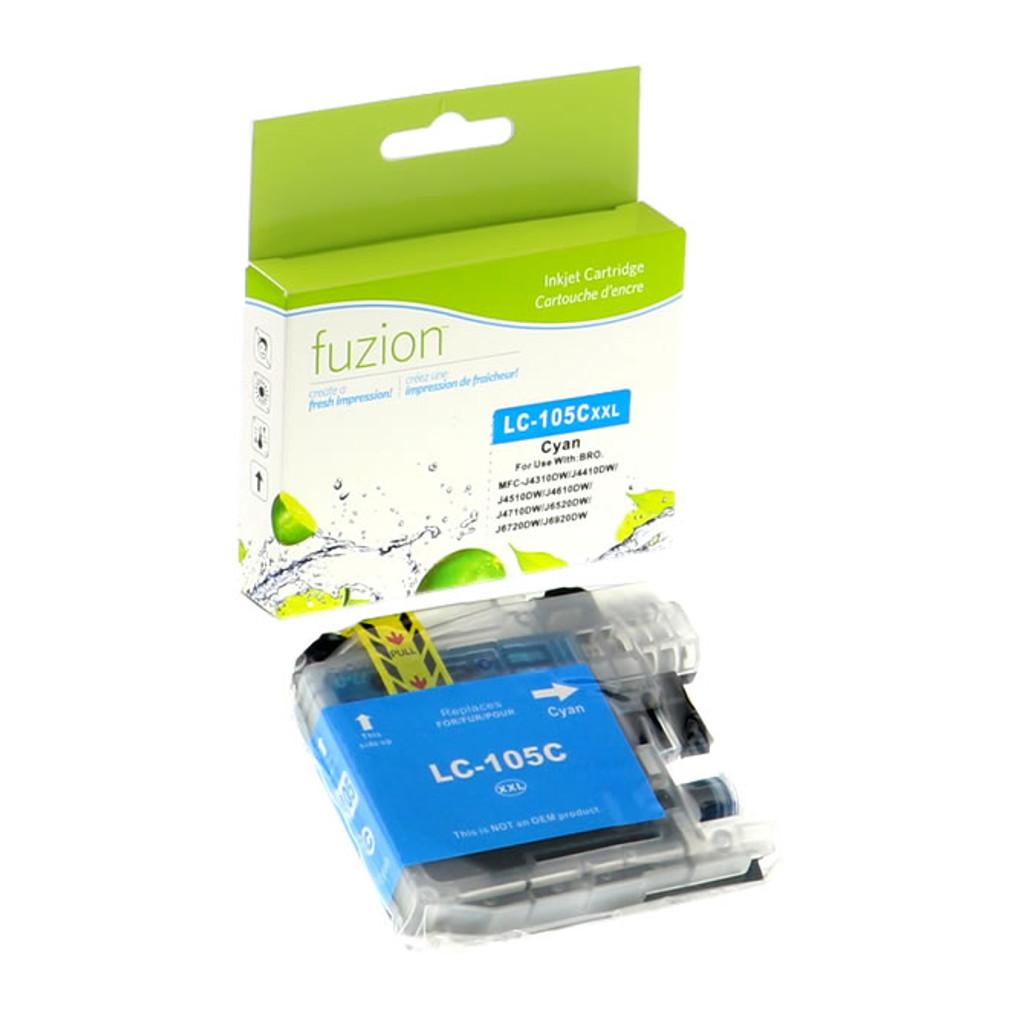 Fuzion Brother LC105 Inkjet Cartridge