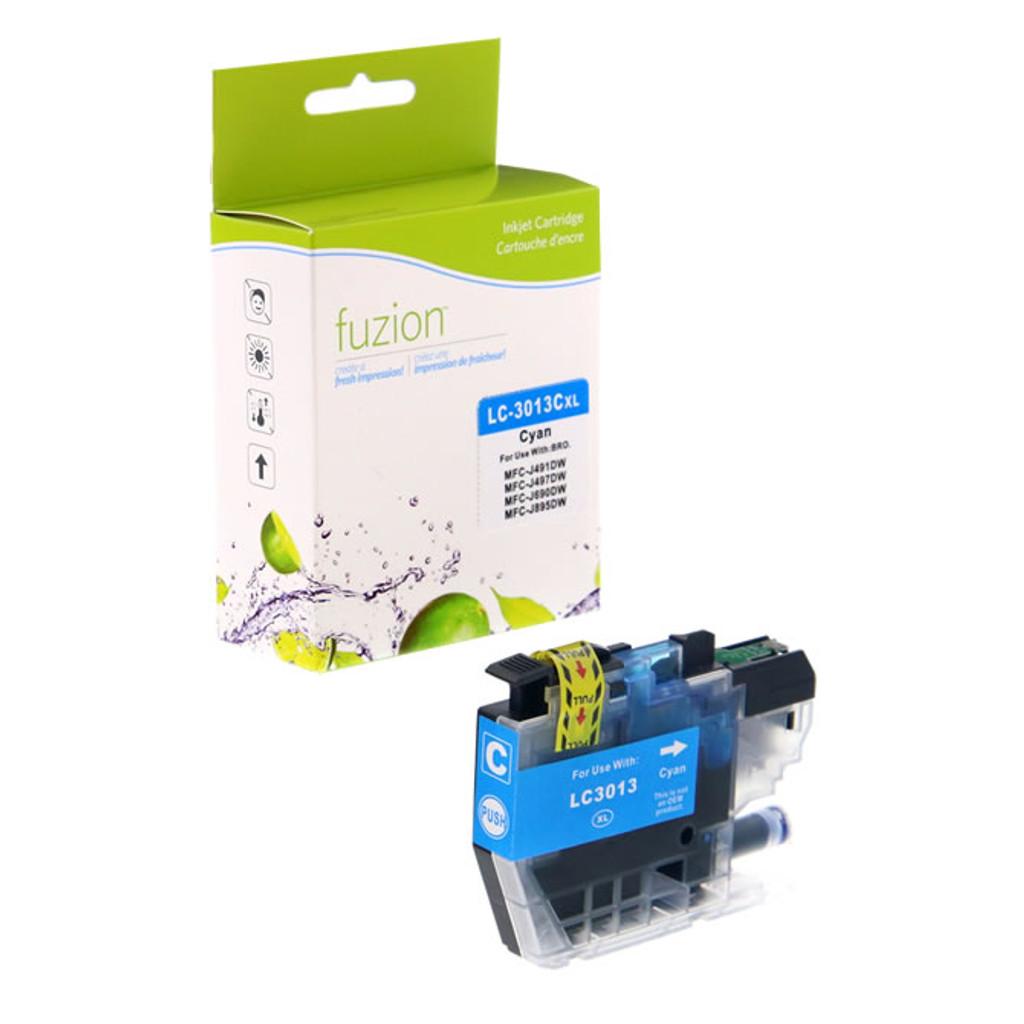 Fuzion Brother LC3013C Inkjet Cartridge