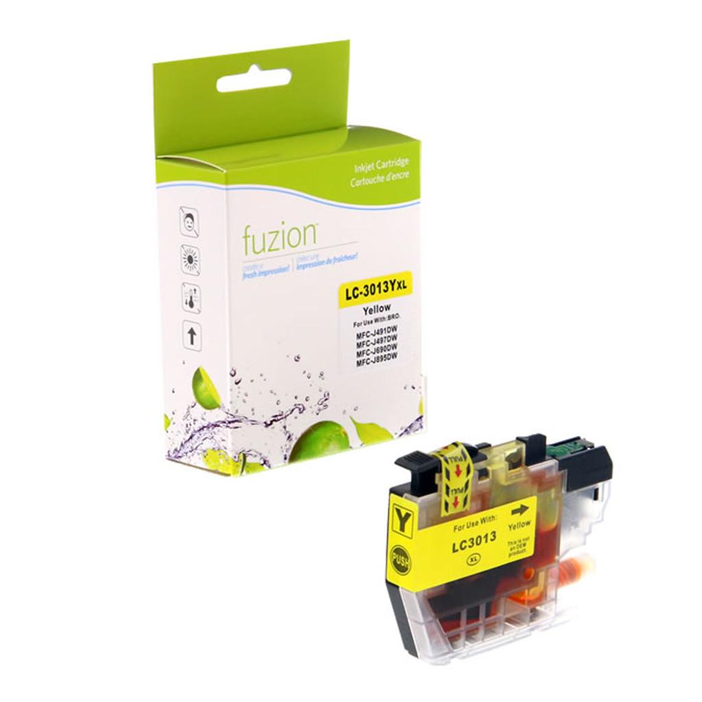 Fuzion Brother LC3013Y Inkjet Cartridge