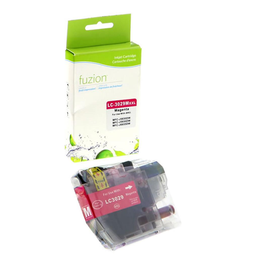 Fuzion Brother LC3029M Inkjet Cartridge