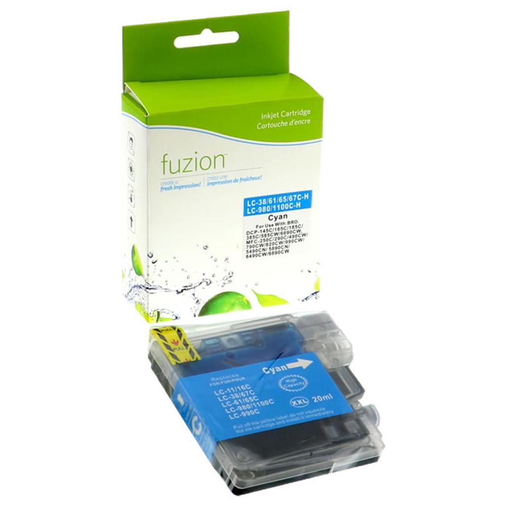 Fuzion Brother LC65 Inkjet Cartridge