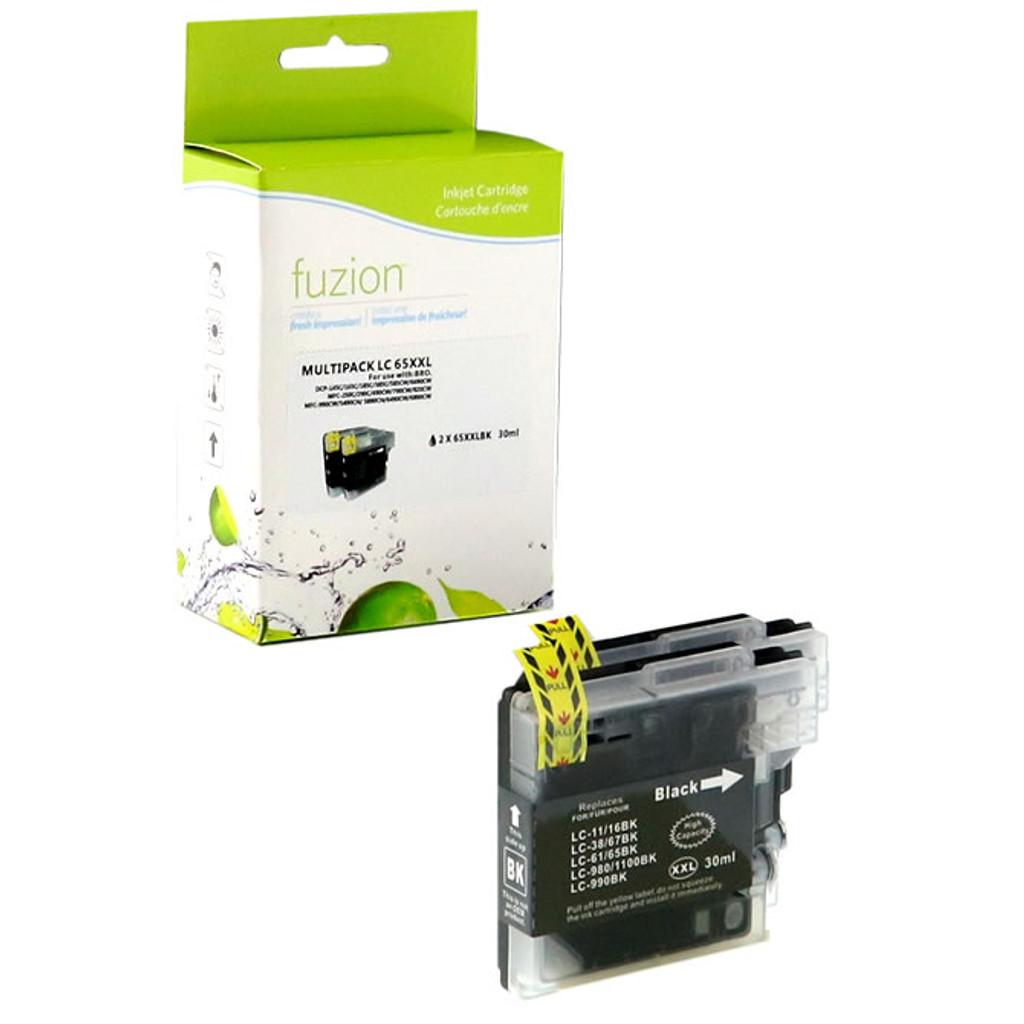 Fuzion Brother LC652PKS Inkjet Cartridge