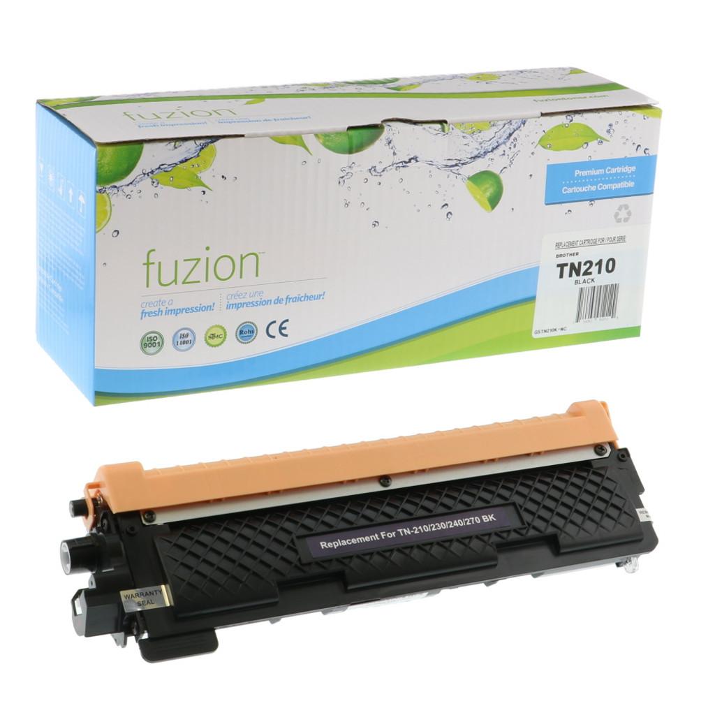Fuzion Brother TN210BK Toner Black Compatible