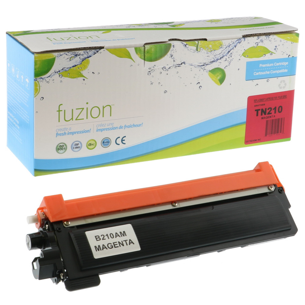Fuzion Brother TN210M Toner Magenta Compatible