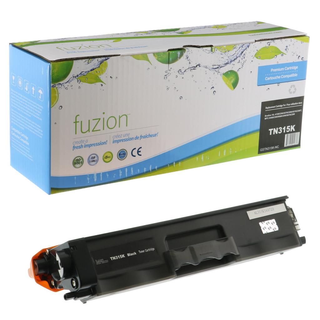 Fuzion Brother TN315BK Toner Black Compatible