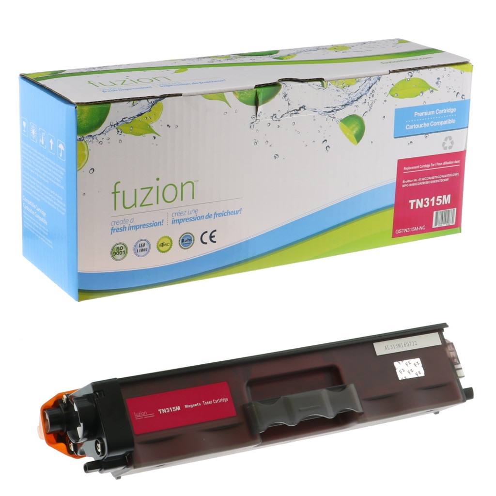 Fuzion Brother TN315M Toner Magenta Compatible