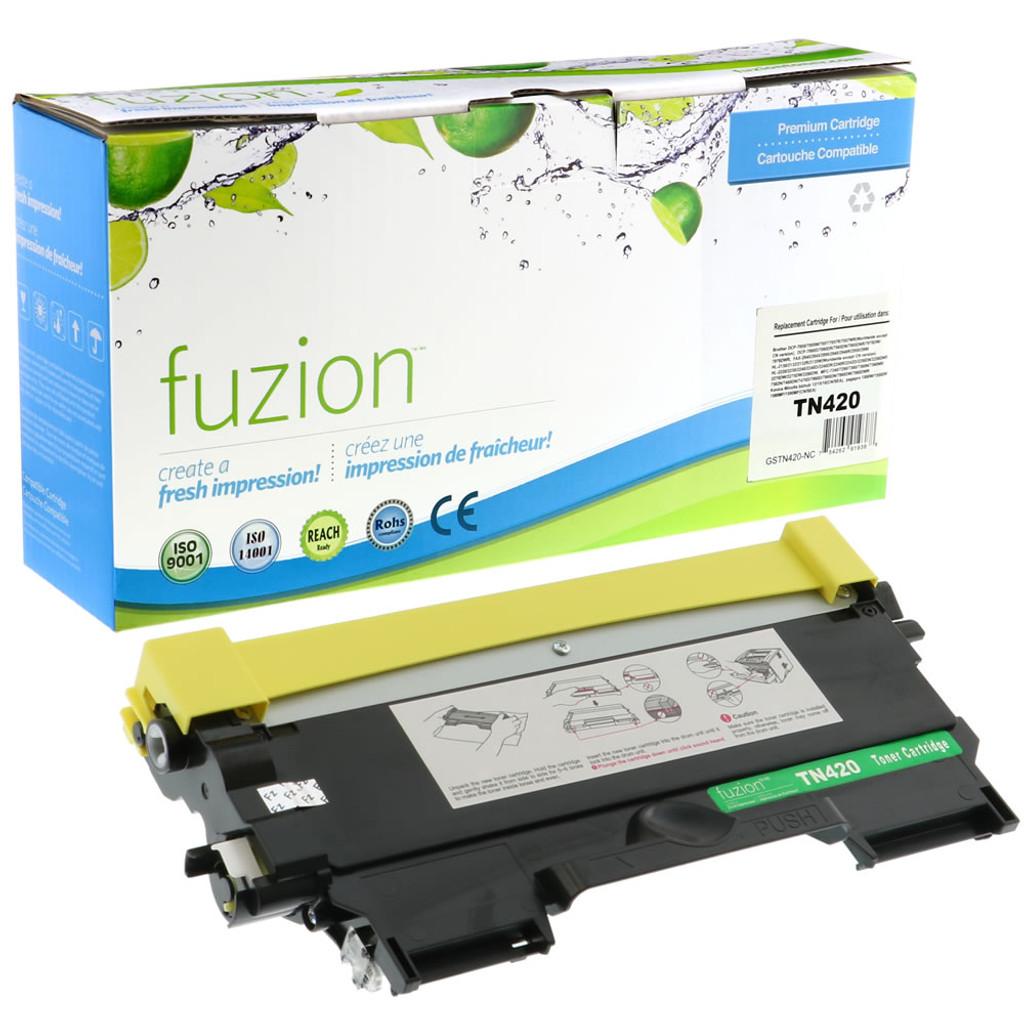 Fuzion Brother TN420 Compatible Toner Black Compatible