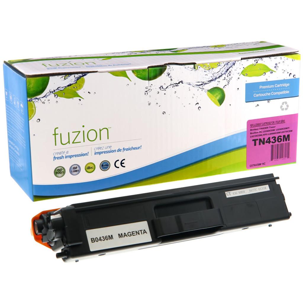 Fuzion Brother TN436M Toner Magenta Compatible