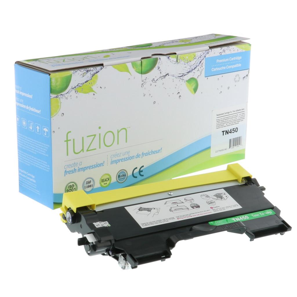Fuzion Brother TN450 Compatible Toner Black Compatible