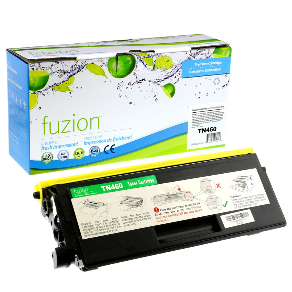 Fuzion Brother TN460/560/570 Uni. Compatible Toner Black Compatible