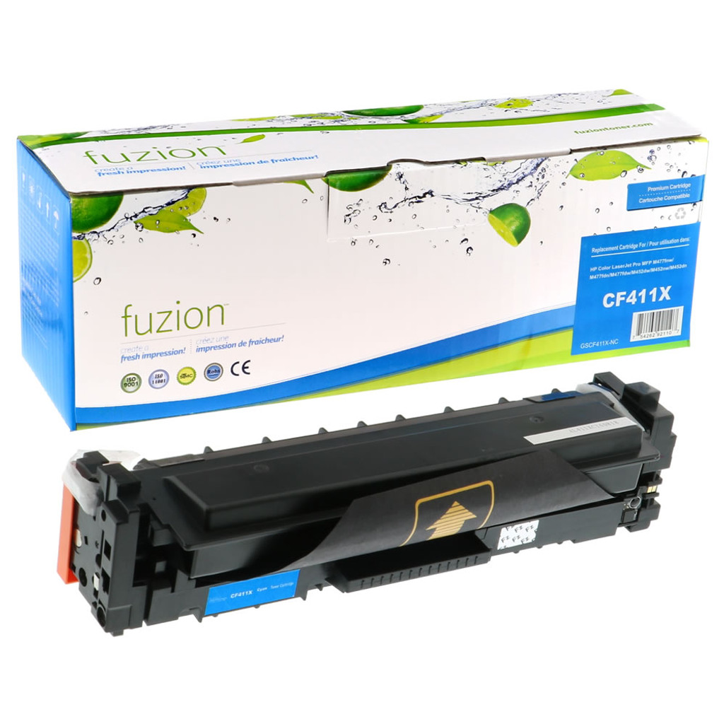Fuzion HP CF411X Toner