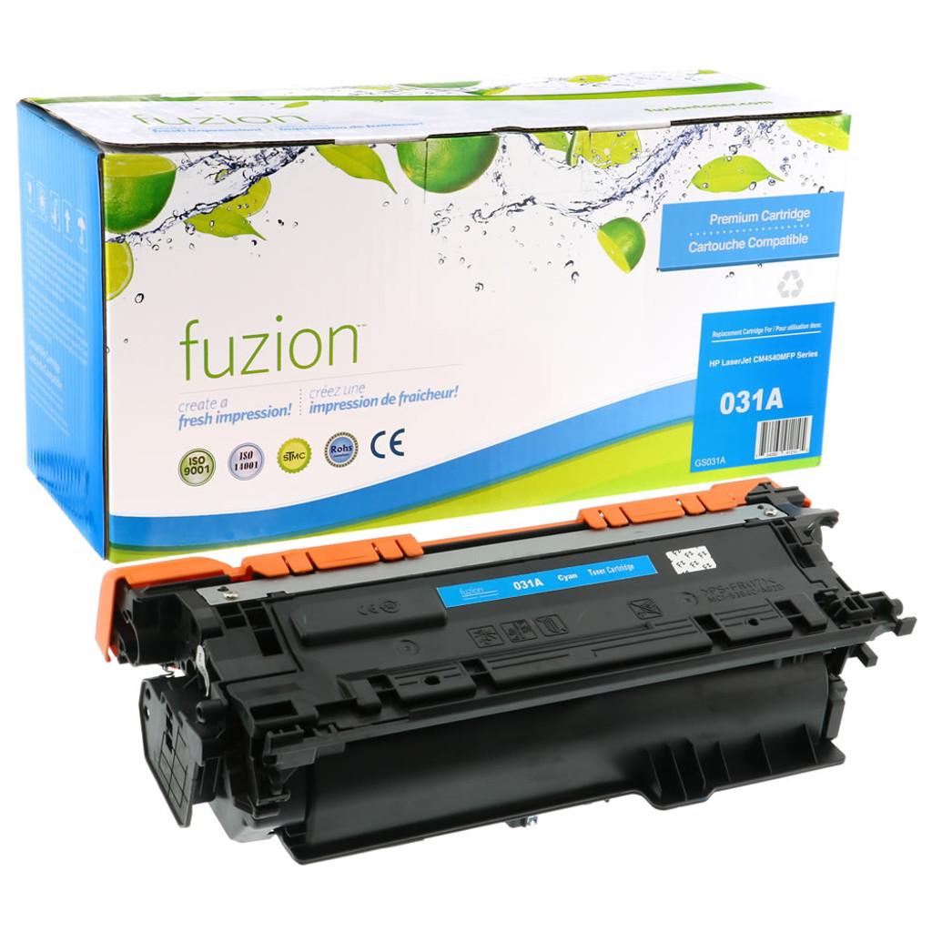 Fuzion - HP CE646A CF031A Colour LaserJet CM 4540MFP Toner - Cyan Remanufactured