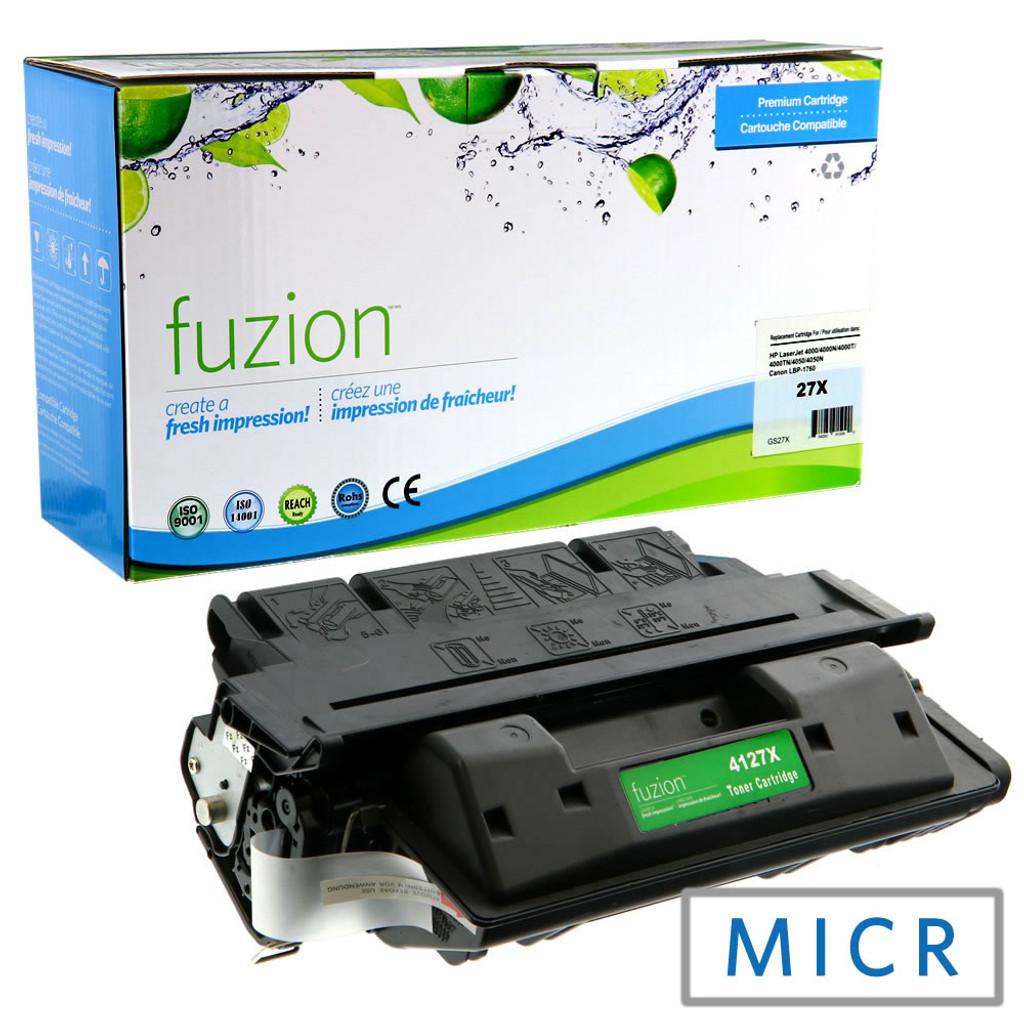Fuzion - HP LaserJet 4000 MICR Toner - Black Remanufactured