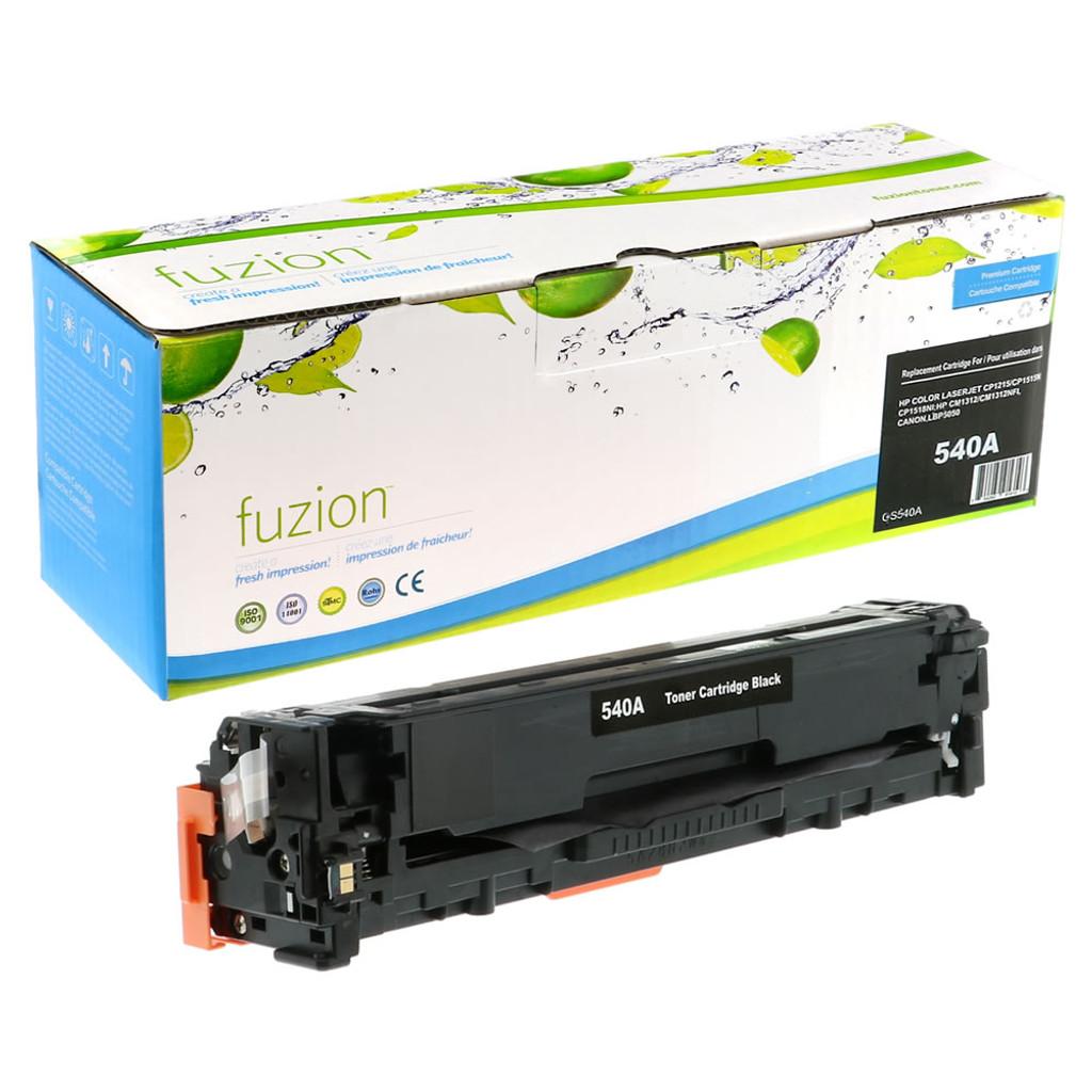 Fuzion - HP Colour CB540A 125A Toner - Black Remanufactured