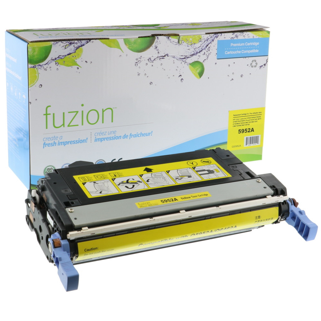 Fuzion - HP Colour Q5952A Toner - Yellow Remanufactured