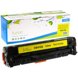 Fuzion-HP-CE412A-Yellow-Toner-Remanufactured