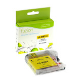 Fuzion Brother LC20EY Inkjet Cartridge