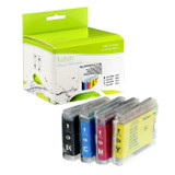 Fuzion Brother LC51SET Inkjet Cartridge