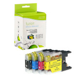 Fuzion Brother LC75SET Inkjet Cartridge