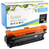 Fuzion - HP 504X (CE250X) High Yield Black Toner - Remanufactured Cartridge