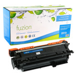 Fuzion - HP 504A (CE251A)  Toner - Cyan Remanufactured