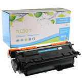Fuzion - HP 647A CE261A Toner - Cyan Remanufactured