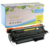 Fuzion - HP 647A CE262A Toner - Yellow Remanufactured