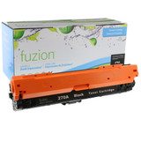 Fuzion - HP 650A CE270A Toner - Black Remanufactured