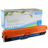 Fuzion - HP 650A CE271A Toner - Cyan Remanufactured
