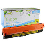 Fuzion - HP 650A CE272A Toner - Yellow Remanufactured