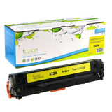 Fuzion - HP CE322A 128A Toner - Yellow Remanufactured